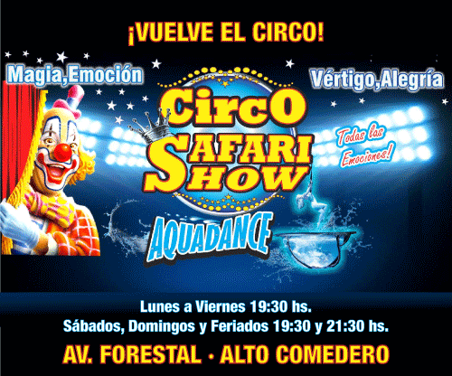 Banner Safari Circo