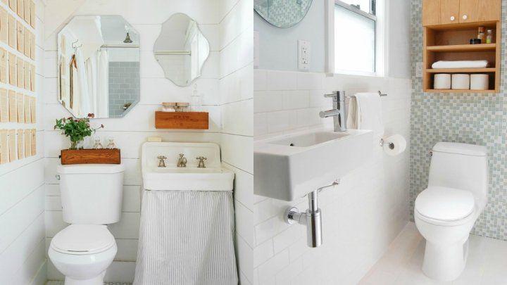 Ideas para decorar un cuarto de baño estrecho | Deco
