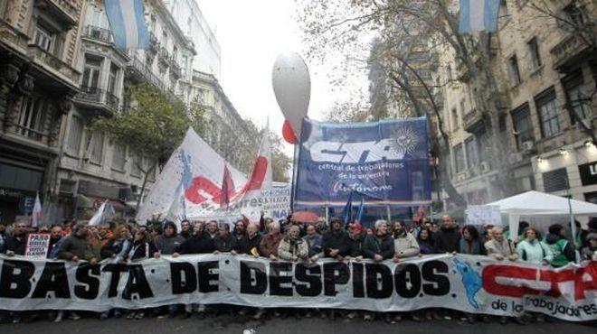 """Comienza la """"Marcha Federal"""" de las dos CTA"""