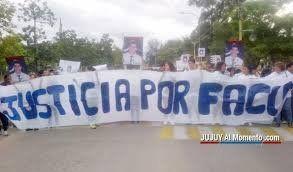 Reconocieron a Jairo Callo como participe en la muerte de Facundo Bonilla