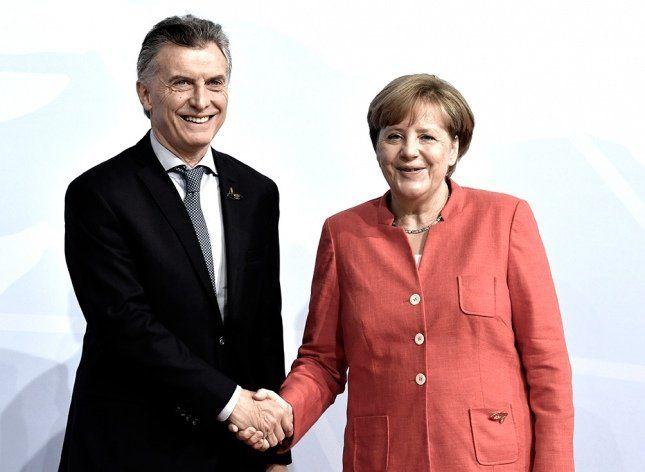 Macri en la sede del G20