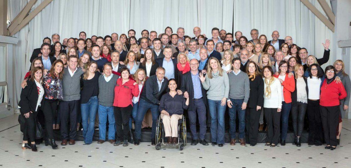 Macri cenó con los candidatos