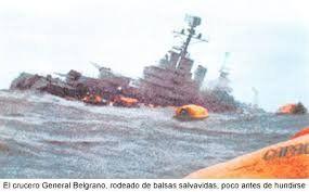 Hundimiento del ARA General Belgrano