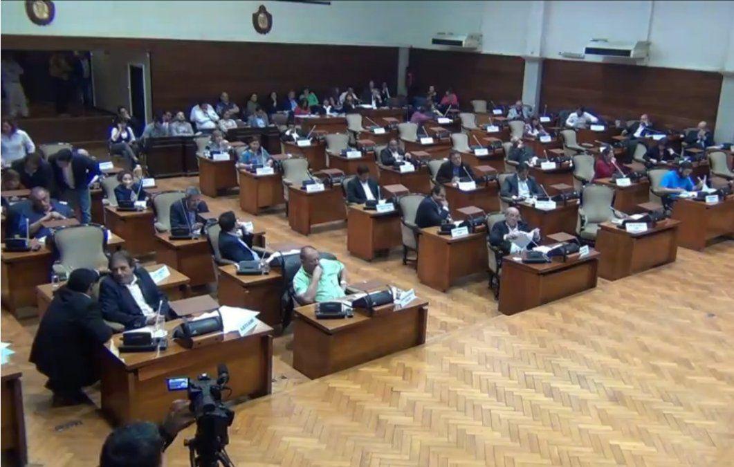 La Legislatura paralizada por una interna del PJ