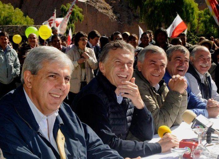 En ausencia de Morales, Macri recibe a Haquim