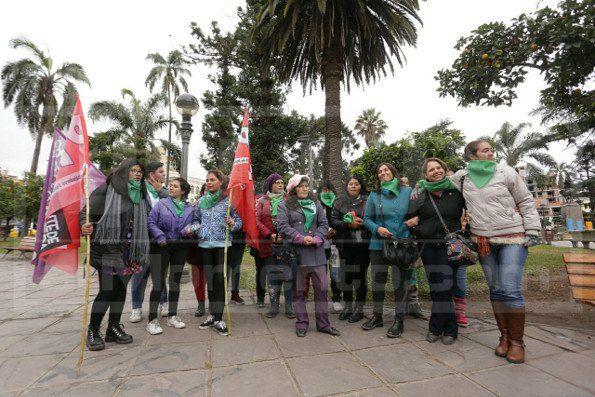 Feministas en Jujuy: Estamos felices