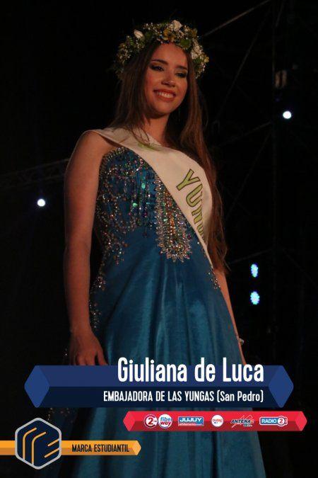 ¡Luciana Garzón Giacoppo es la nueva reina de Jujuy!