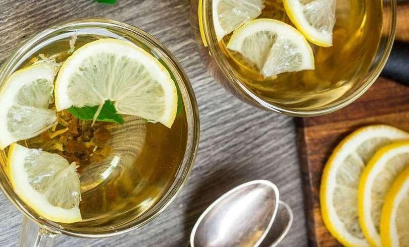 Propiedades del te verde y limon