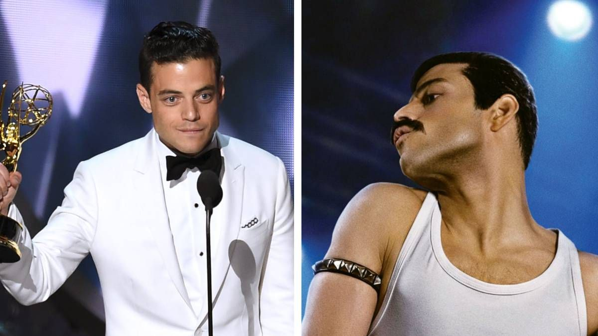 Hombre de la semana: Rami Malek, el actor que da vida a Freddie Mercury