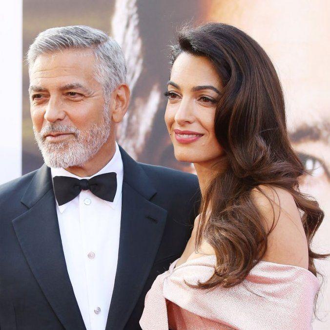 Amal y George Clooney, ¿posibles padrinos del bebé de Meghan y Harry?
