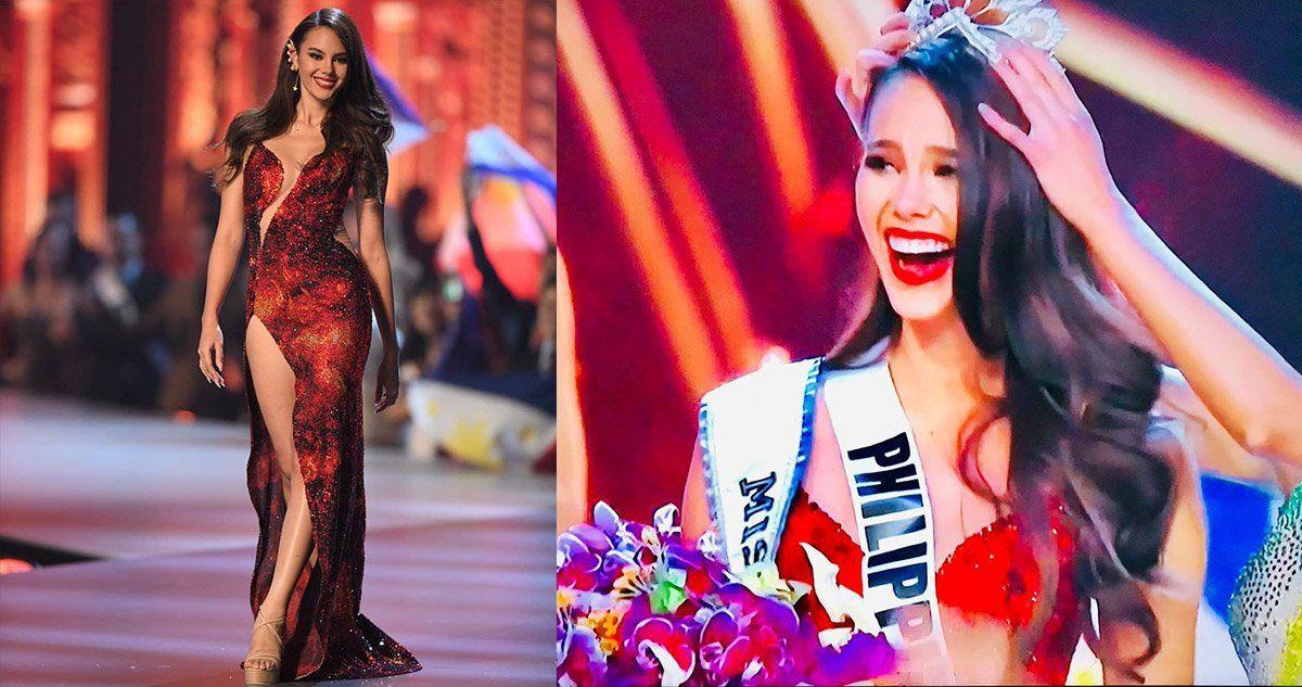 El momento en que Catriona Gray es coronada Miss Universo 2018