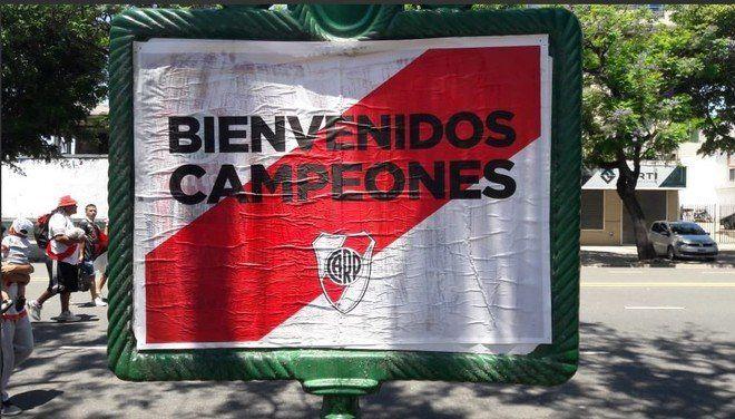 River festeja la Copa Libertadores ante su gente