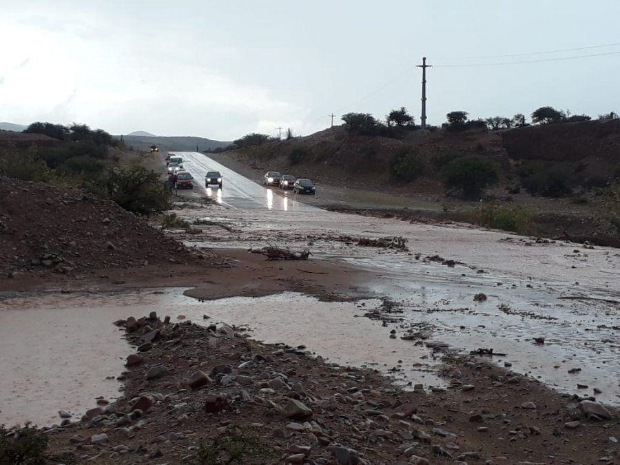 La Quebrada volvió a sufrir por el temporal