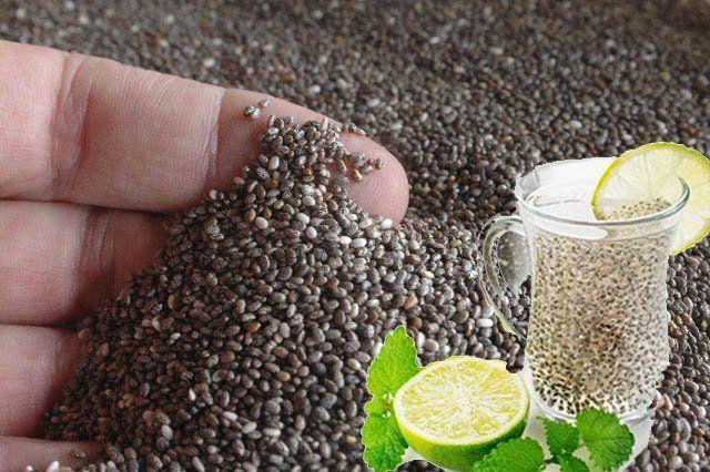 como hacer el agua de chia para adelgazar