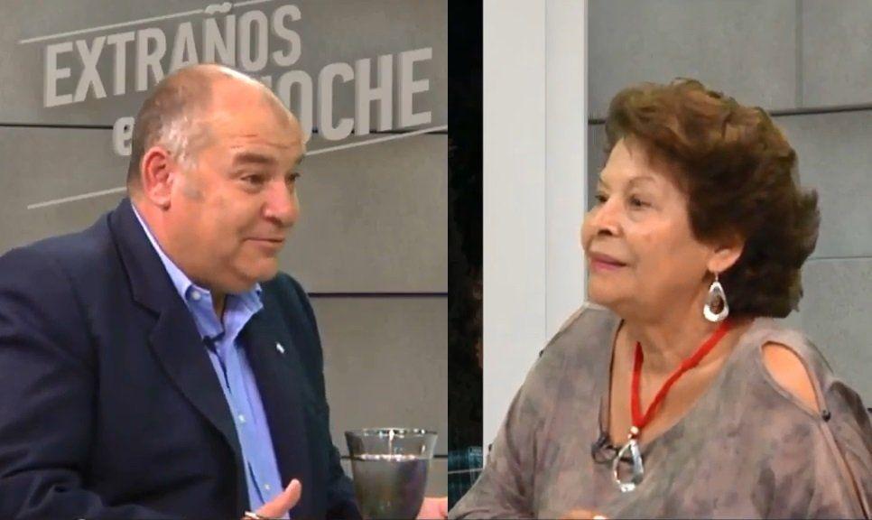 Susana Quiroga en Extraños en la Noche