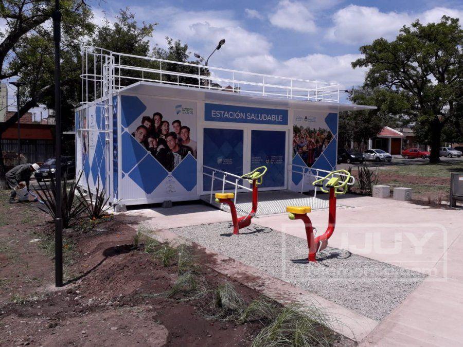 Habilitaron la primera Estación saludable a metros del Xibi Xibi