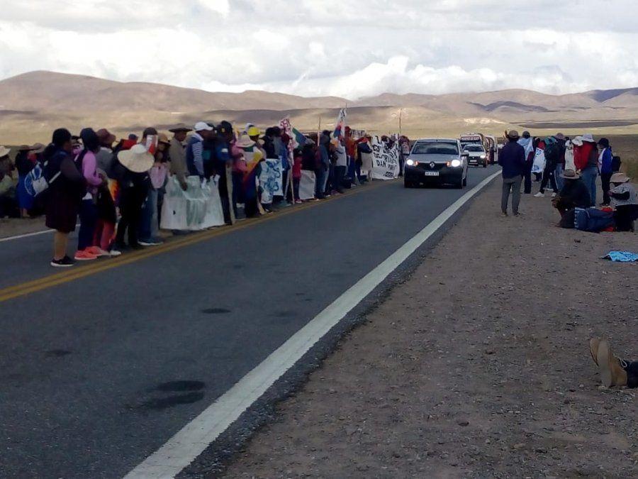 Comunidades llevan más de 20 días de reclamo contra el litio