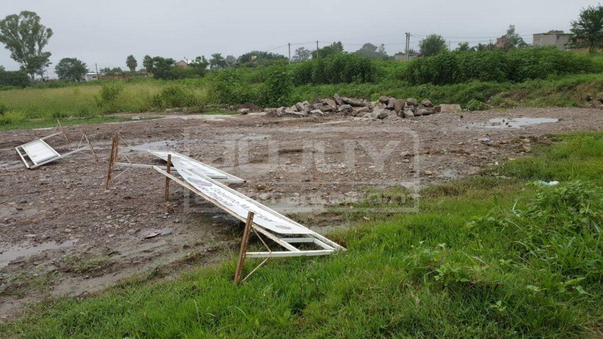 Se cumplirá un año del temporal en Palpalá y el puente sigue caído