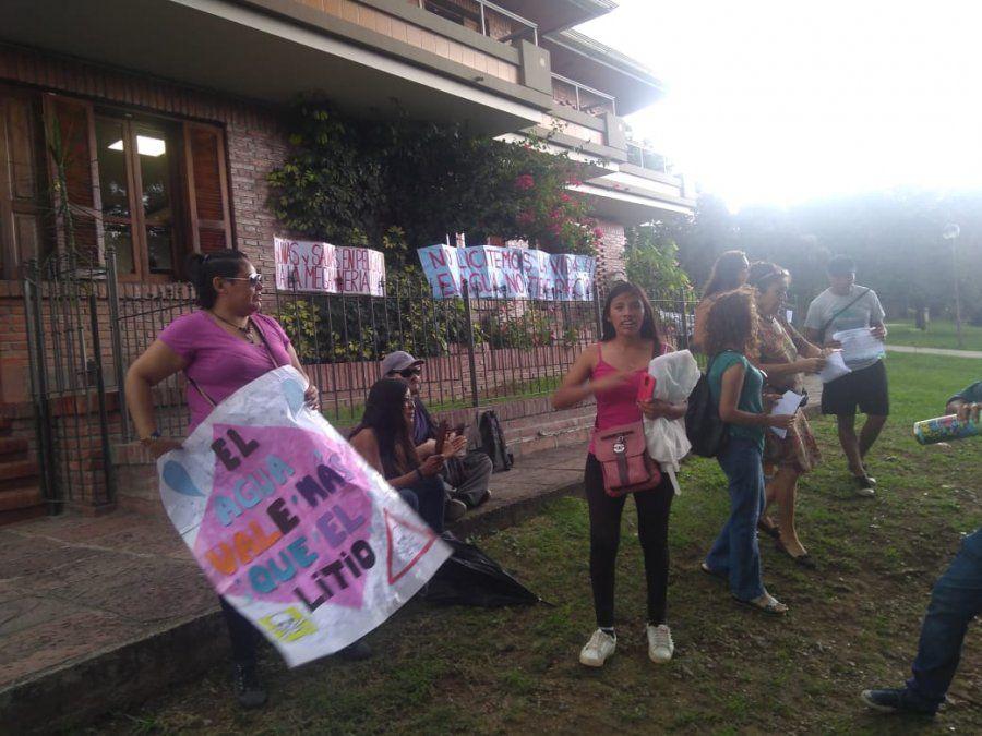 En las puertas de JEMSE, comunidades pidieron que se anule la licitación