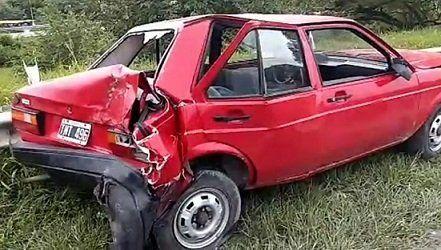 Accidente en el acceso sur de la ciudad