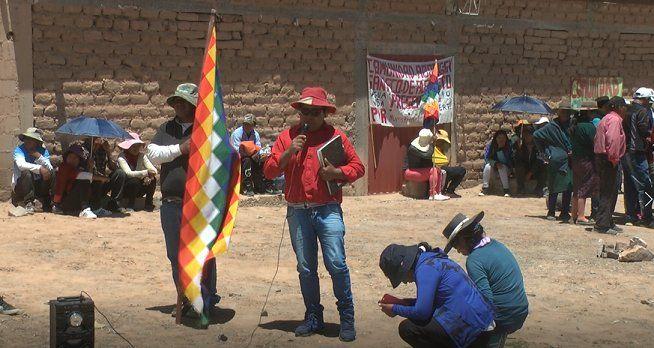 Comunidades ratificaron su postura contra el litio