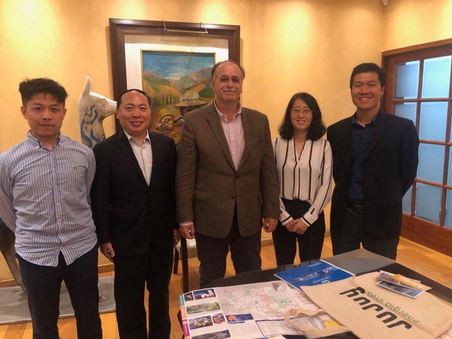 Reuniones con empresarios chinos por el tren Jujuy -La Quiaca