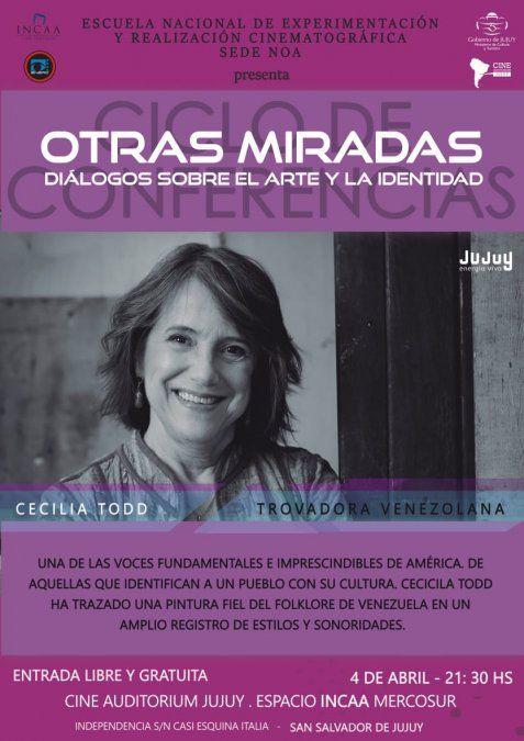 Dos citas imperdibles con la trovadora venezolana Cecilia Todd