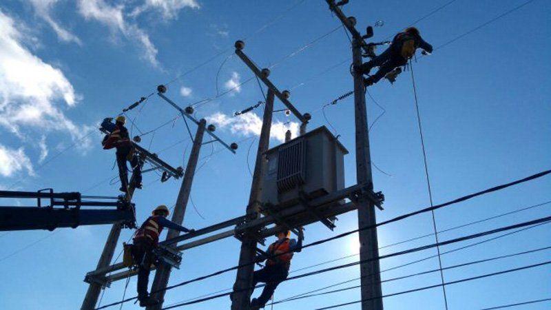 Se registraron cortes de luz en algunos barrios
