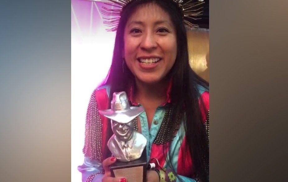 ¡Micaela Chauque se quedó con el Premio Gardel!