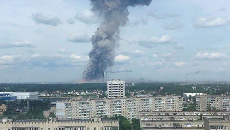 Explosión en una fábrica militar de Rusia: al menos 42 heridos y dos desaparecidos