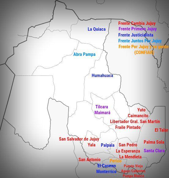 El peronismo se recuperó en las ciudades del interior