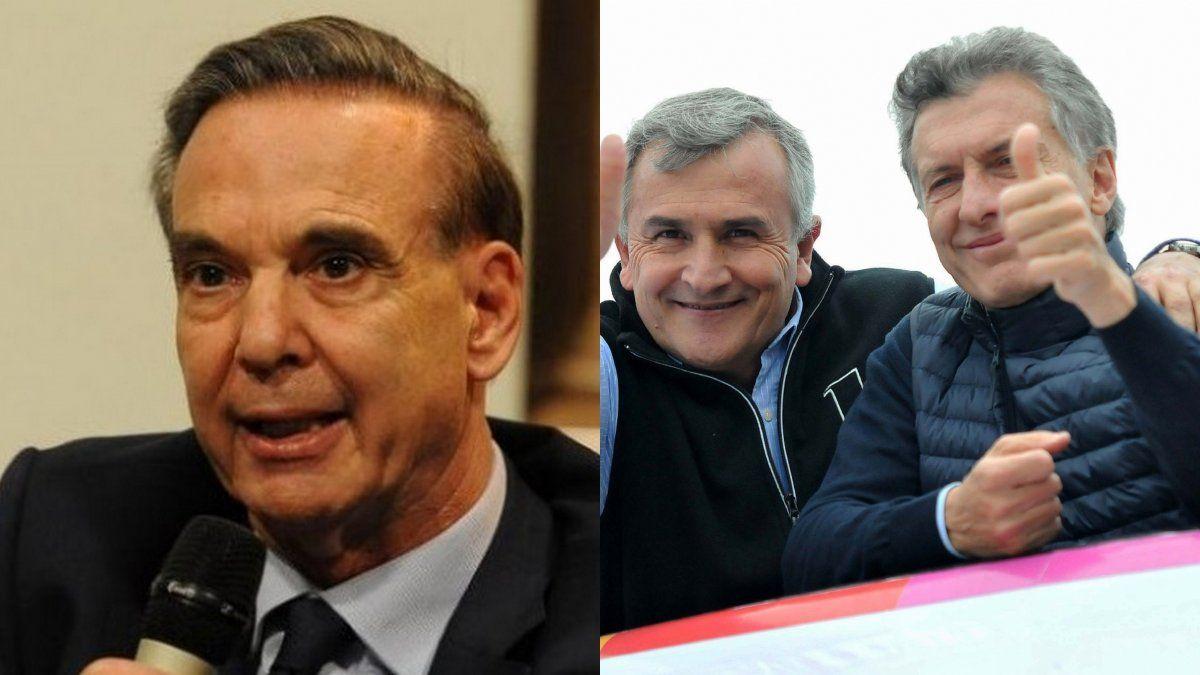 Morales celebró el anuncio de la fórmula Macri-Pichetto