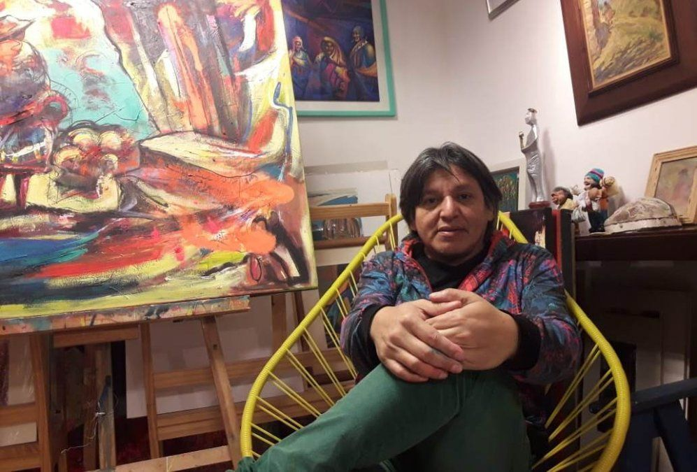 De Jujuy al mundo: Ariel Cortéz llevará su arte a Francia