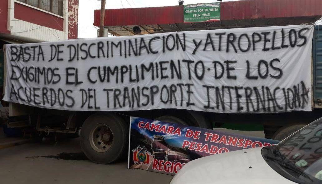 Sigue cerrado el puente fronterizo Villazón- La Quiaca