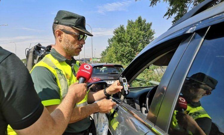 Por día, unos 500 conductores son detenidos en España por intoxicación