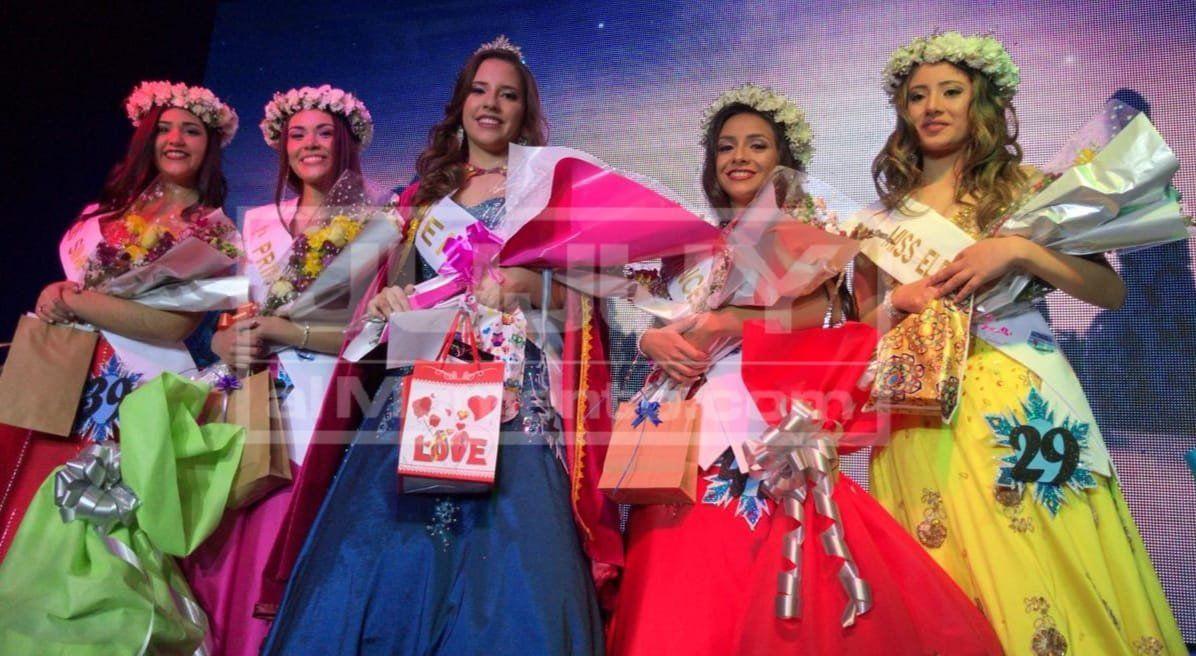 Emilia Intimone fue elegida en reina del Colegio Santa Teresita