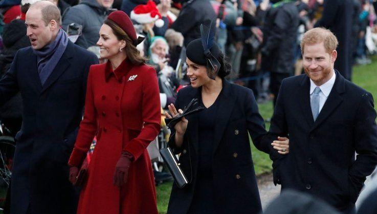 Meghan Markle y el príncipe Harry no trabajarán más con William y Kate Middleton