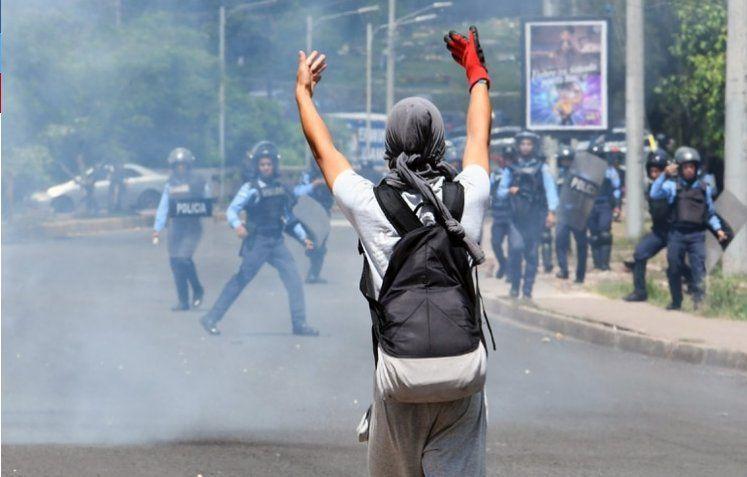 Militares de Honduras entraron a una universidad y dispararon a estudiantes