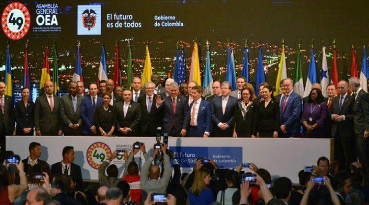 La Asamblea General de la OEA y un llamado a doblegar la dictadura en Venezuela