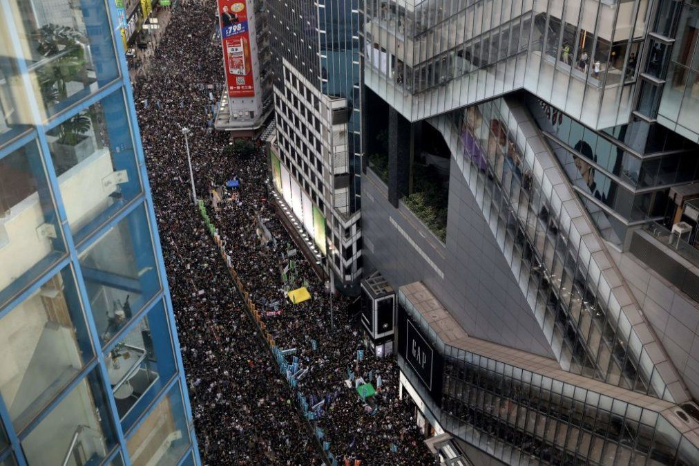 Manifestaciones y disturbios en Hong Kong
