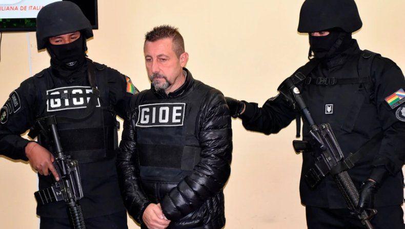 Capturaron en Bolivia a un peligroso narco italiano