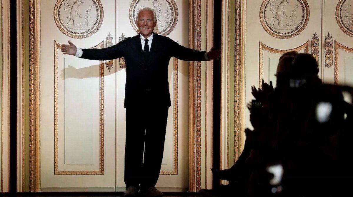 Giorgo Armani cumple 85 años y se consagra como el emperador de la alta costura