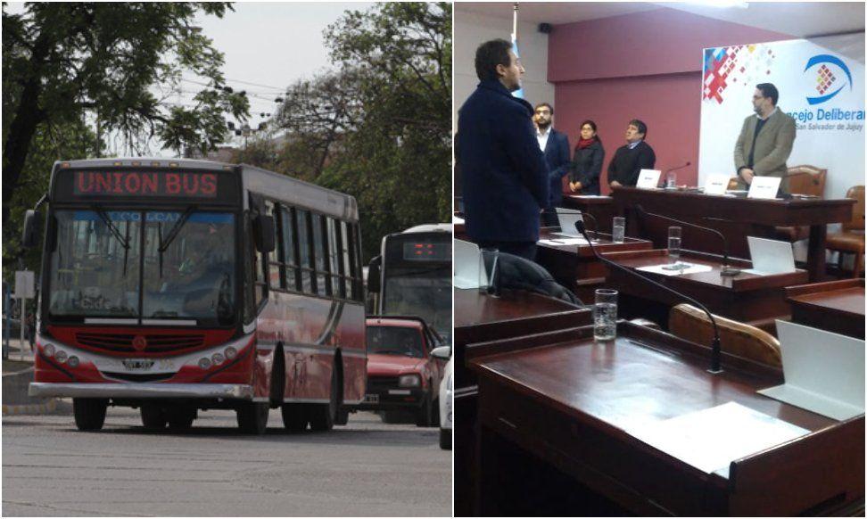 Concejales declararon la emergencia en el transporte