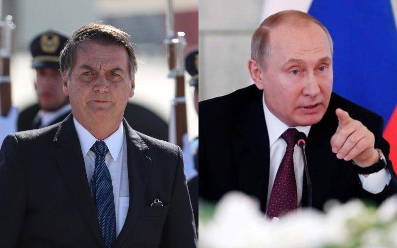 Bolsonaro espera que Putin ayude a resolver la cuestión de Venezuela