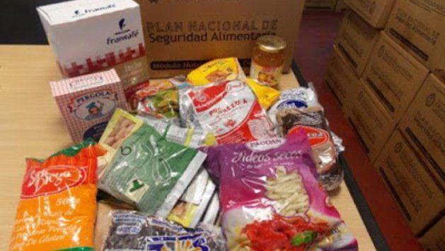 Comienza la entrega de cajas alimentarias para celíacos