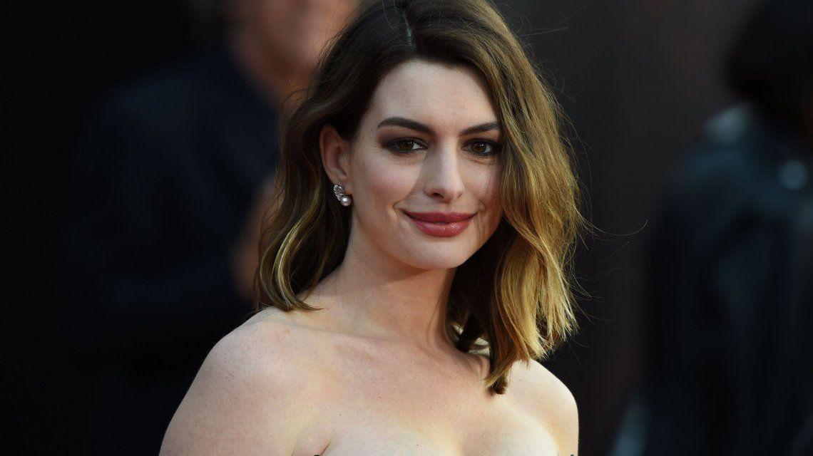 Anne Hathaway será madre nuevamente