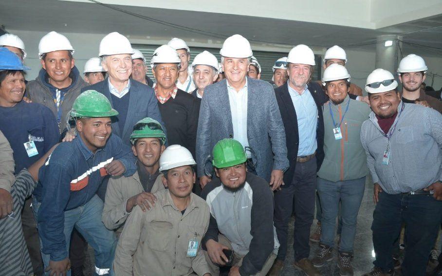 Macri y Morales recorren la provincia