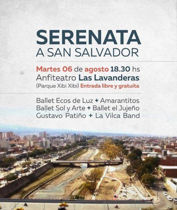 Se realiza la Serenata en honor a San Salvador