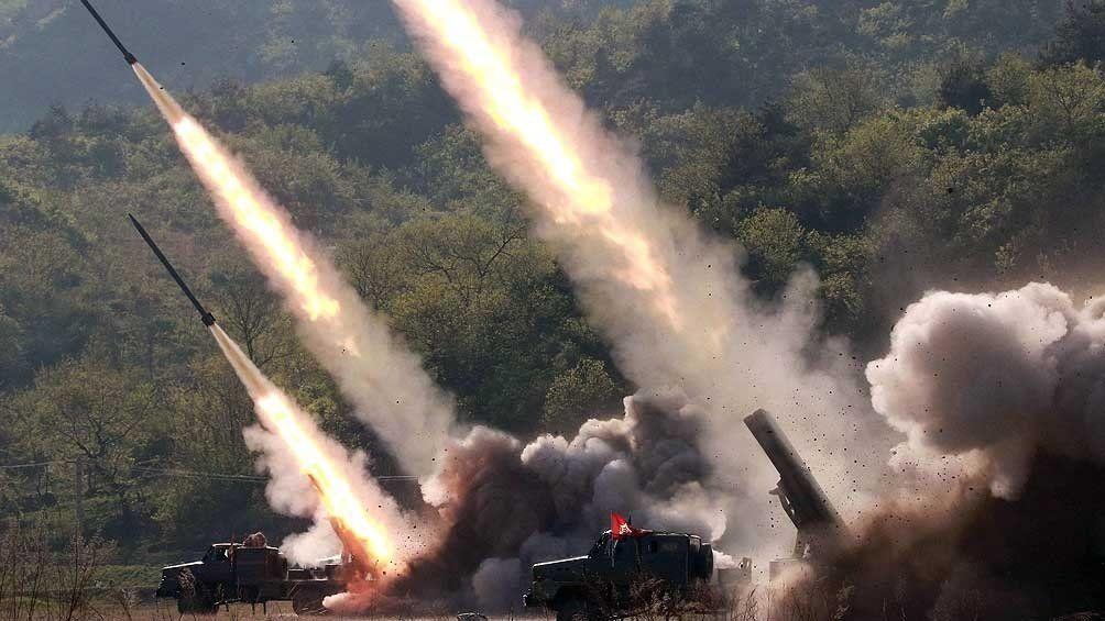 Prueban más misiles por las maniobras militares de EE.UU. y Corea del Sur