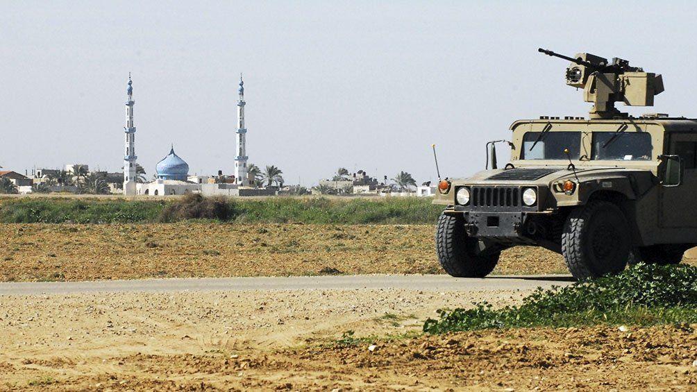 El Ejército mata a cuatro palestinos armados en la valla de Gaza